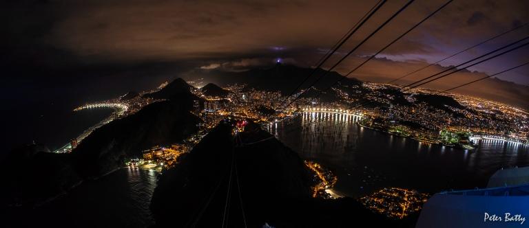 Rio at night