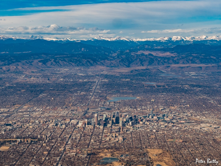 Denver from the air 1024
