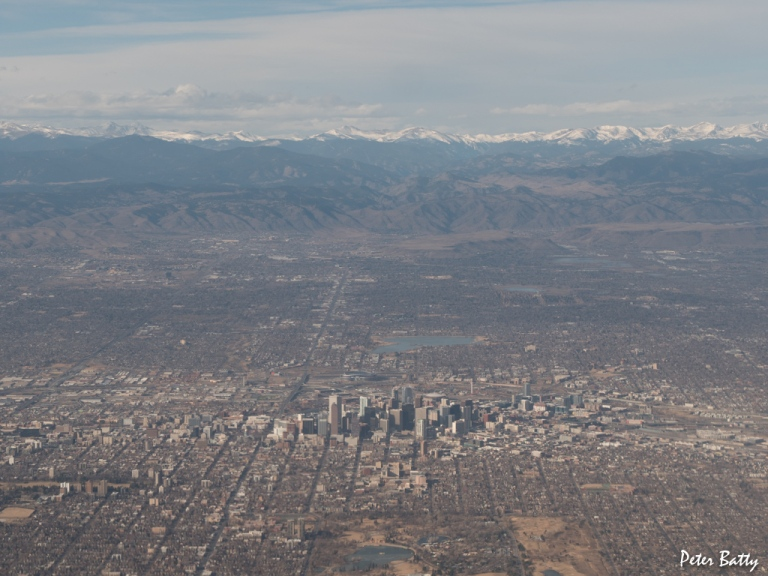 Denver from the air original